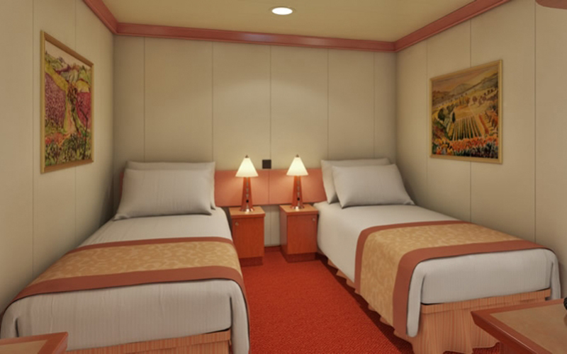 carnival conquest stateroom floor plan